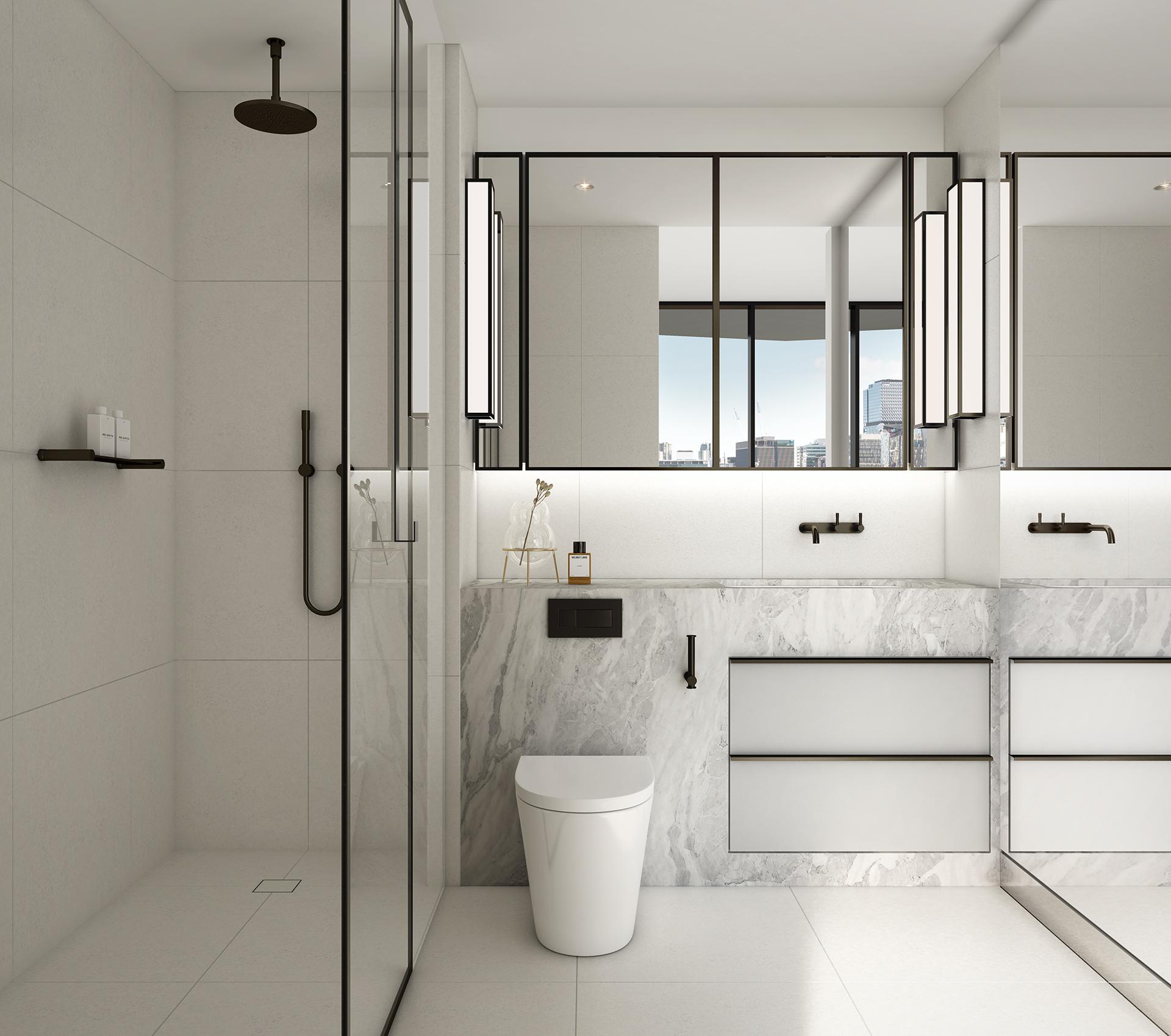 The Mail House Bathroom