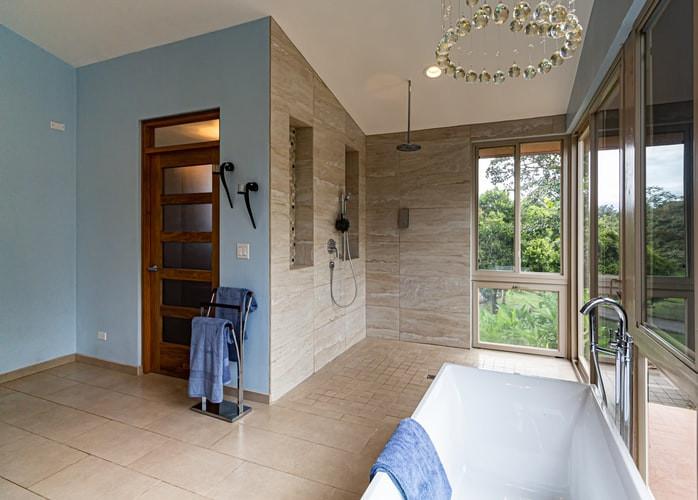 Vinyl Tiles For Renovation of Bathroom