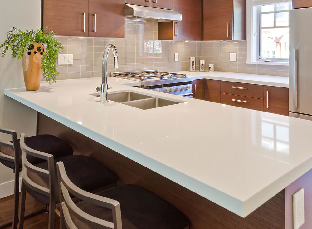 Thick Slab Countertop For Kitchen Remodel Inspiration