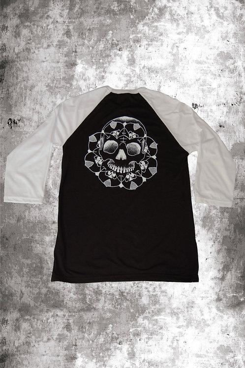 DALASKULL BASEBALL  - BLACK/WHITE
