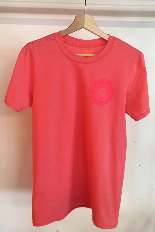 Neon Unisex Pineapple Ring T-shirt