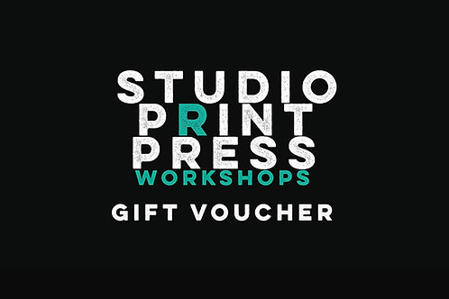 SCREEN PRINTED T-SHIRTS GIFT VOUCHER