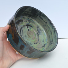 Marbled Green Bowl