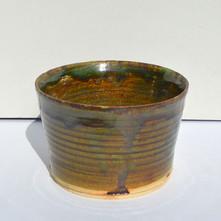 Green and Tan Bowl No.2