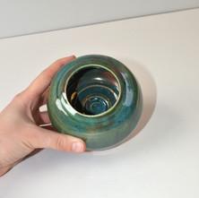Transparent Green Bowl