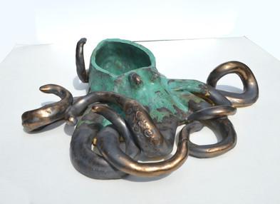 Bronze Splash Octopus