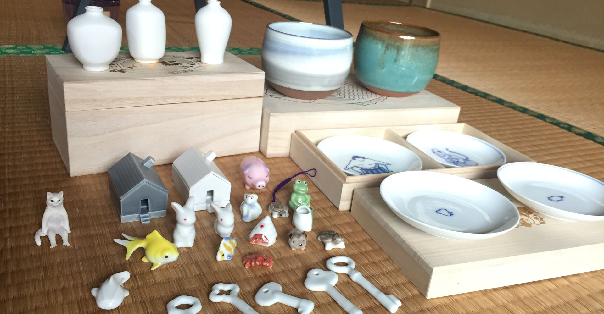 What did Jeremie collect from Kyushu?