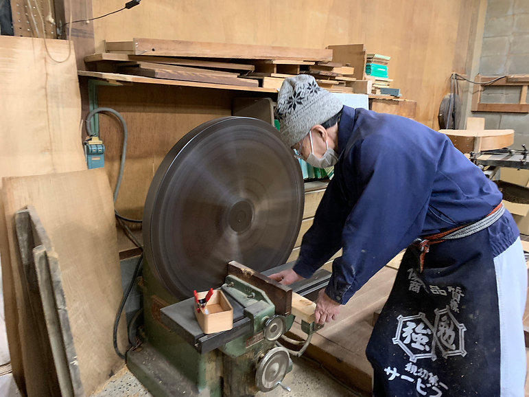 japan artisan woodwork