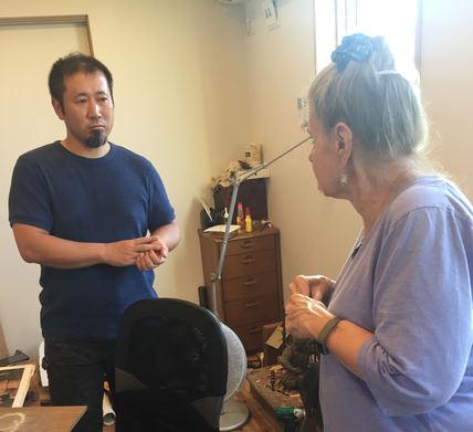 Buddha artisan studio-visit