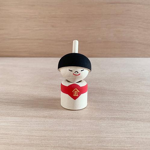 KINTARO Wooden Top Doll