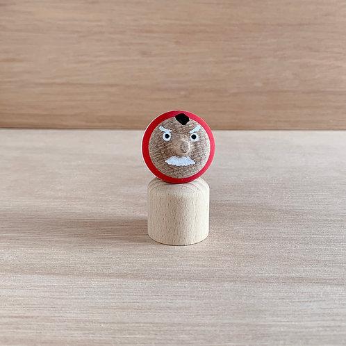 Top-Doll TENGU en bois