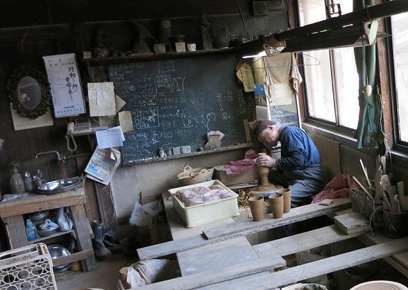 japan wabisabi pottery tea-ceremony taketombo