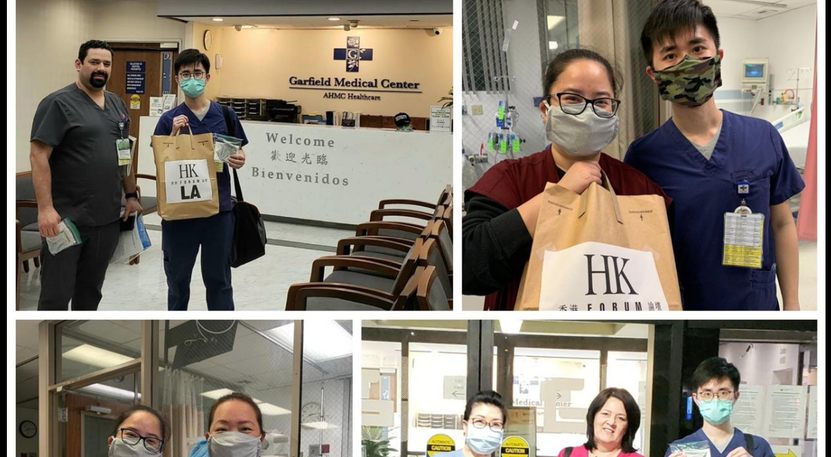 Make cloth masks and donate to heathcare workers!