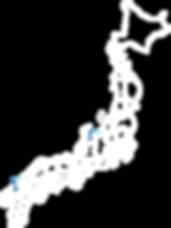 Taketombo Japan map