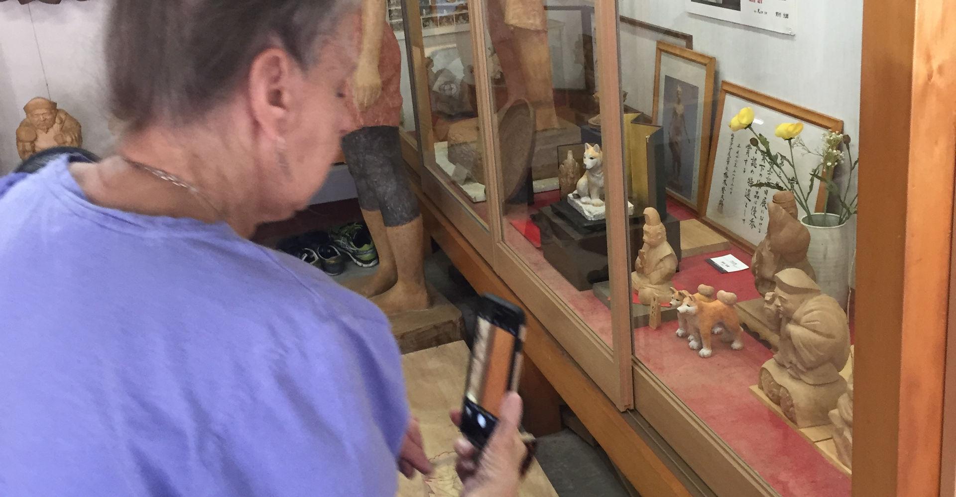Studio visits on Yokamachi
