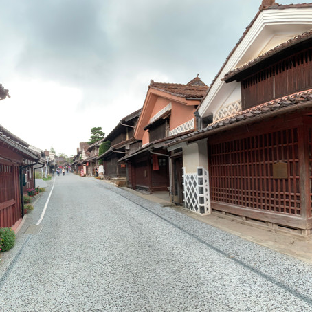 Fukiya -The beautiful village of red iron oxide