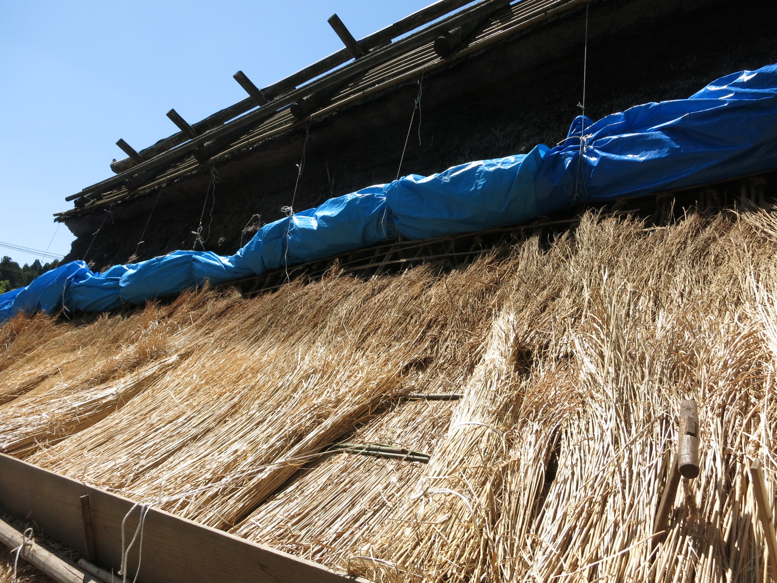 Thatched Roof of 150-year-old house