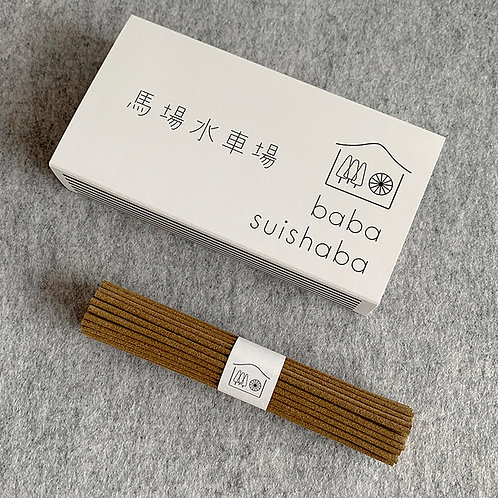 goenne handmade incense all-natural Japan craft
