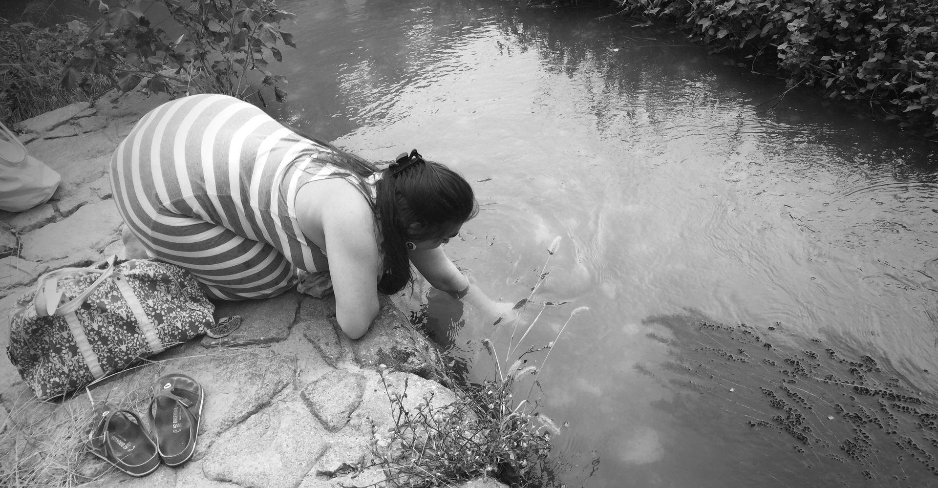Arita river-diving