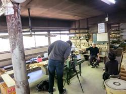 Taketombo team on location - Marudai