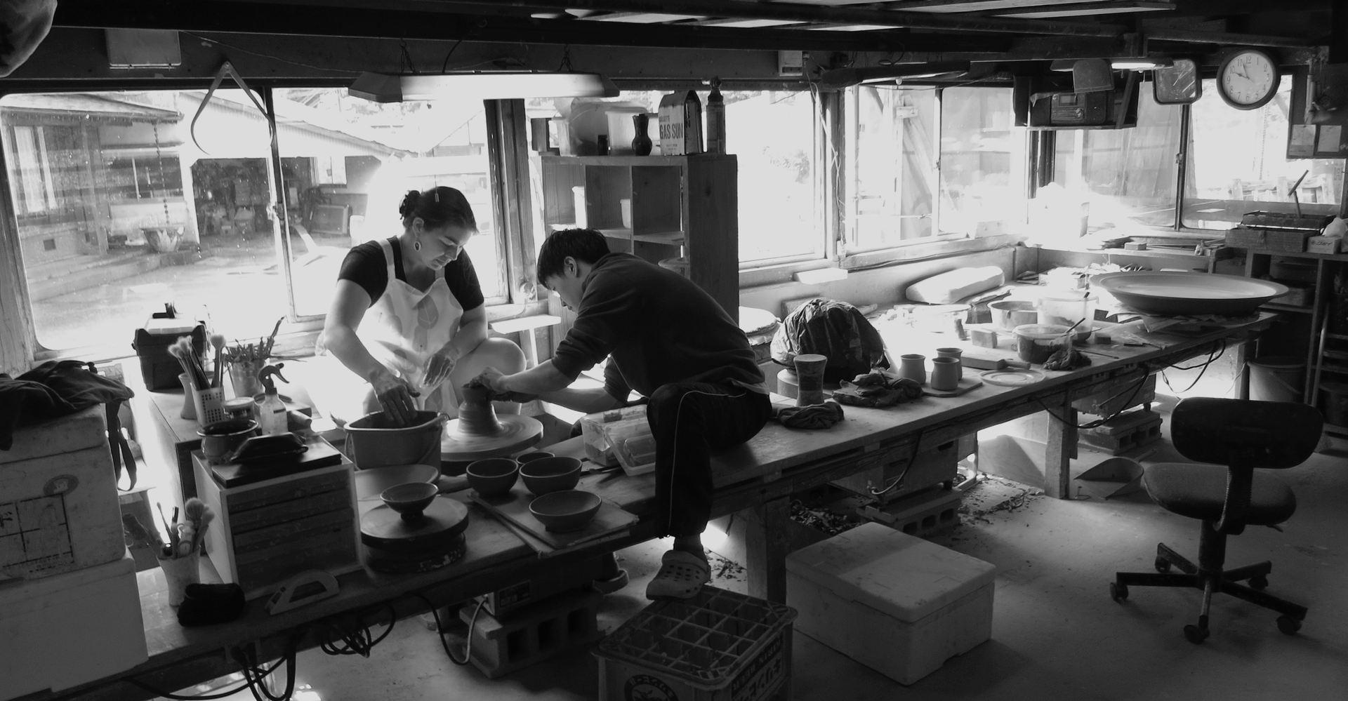 Workshop at Koishiwara