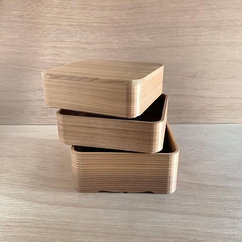 Boîte carrée à 3 niveaux - TD