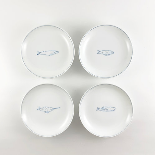 4-inch plate (SET of 4 )