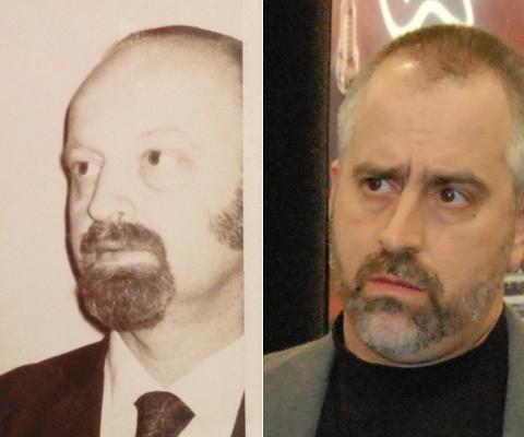 Max Metlay, circa 1975; Mike Metlay, circa 2006