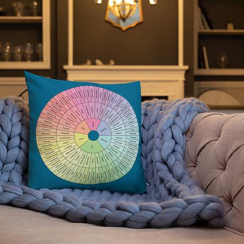 Feelings Wheel Premium Pillow
