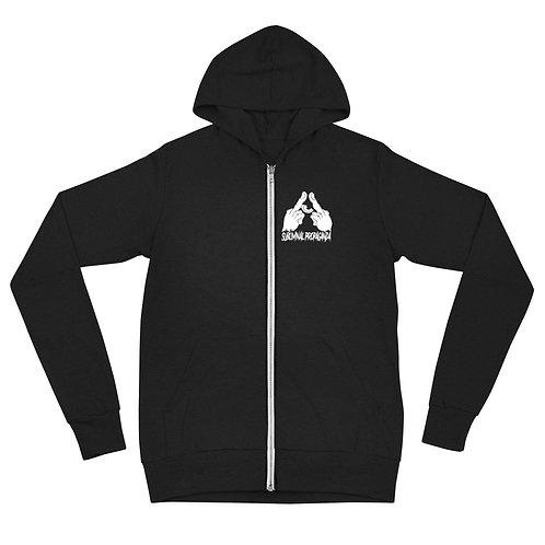 Subliminal Propaganda  zip hoodie