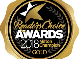 Milton Readers Choice Awards