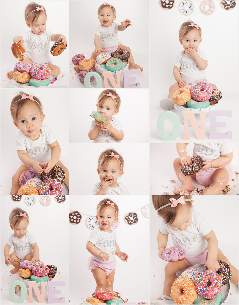 Donut Smash First Birthday Photoshoot