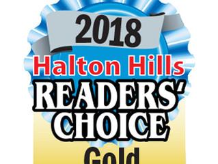 2018 Halton Hills Readers Choice Awards