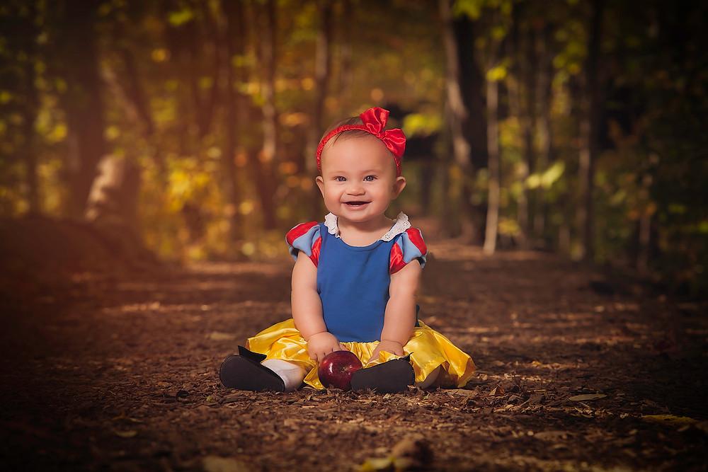 Disney Snow White Baby Photo