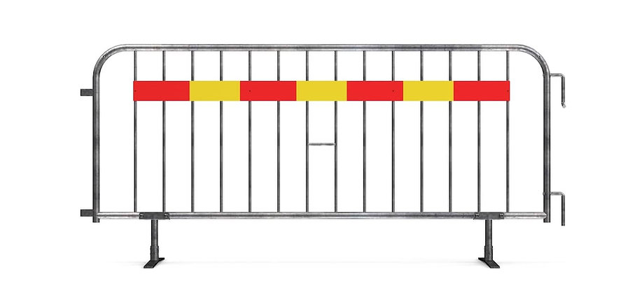 830471 - Temporary fence 2,4 m flat foot