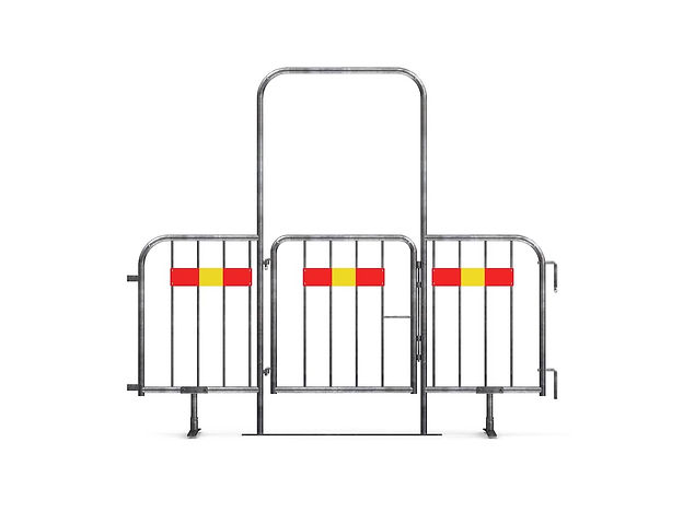 831076 - Temporary fence gate Front (web