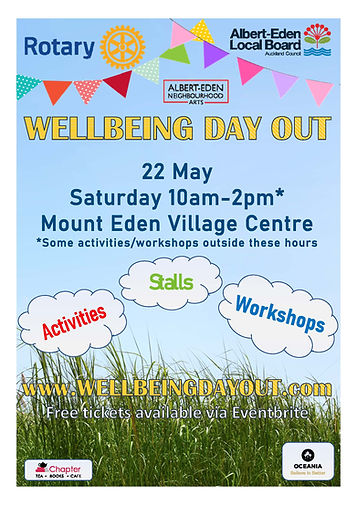 Wellbeing Day Out Poster 2021