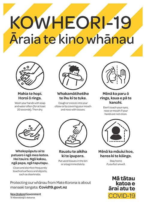 COVID-19 Poster Bilingual