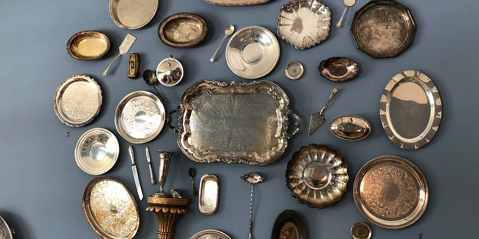 ONE DAY ONLY-Sterling, Silver Plate, Costume Jewelry, and Coins (1800-2000)