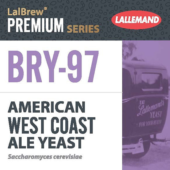 American West Coast (BRY-97  Style Yeast) Yeast [11g]