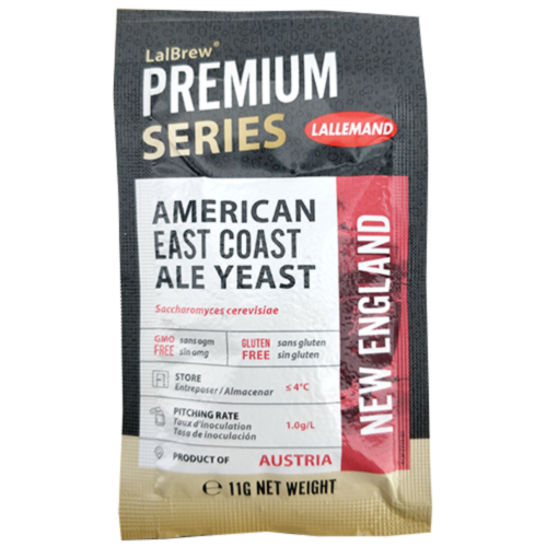 LalBrew - Premium New England Yeast x 11g - (Lallemand)American Easy Coast Ale
