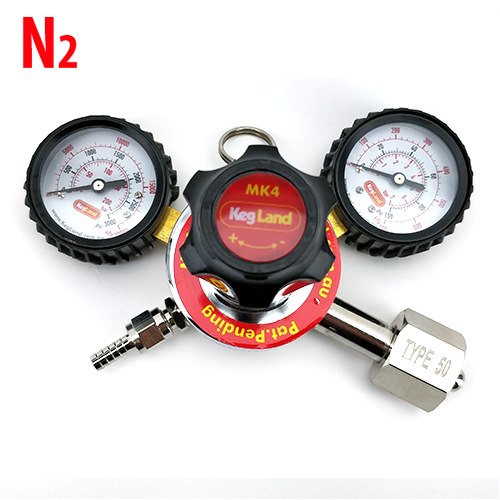 NITROGEN (N2) GAS REGULATOR | MK4 DUAL GAUGE MULTI GAS - TYPE 50