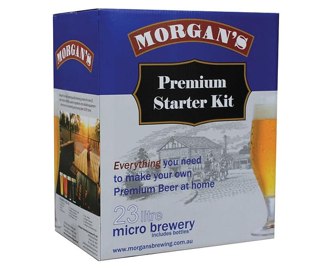 Home Brew Starter Kit Micro Brewery Morgans Beer Craft Make Your Own Beginner