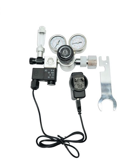 Aquarium Regulator CO2 with Magnetic Solenoid Valve