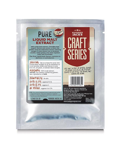 PURE LIQUID MALT EXTRACT - 1.2KG