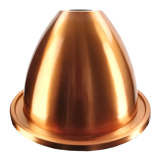 ALCOENGINE COPPER ALEMBIC DISTILLATION LID (47MM HOLE) - SUITS THE BREWZILLA 35L