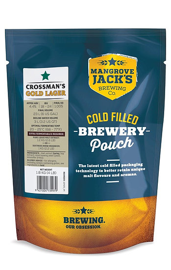 CROSSMAN'S GOLD LAGER [TRADITIONAL SERIES]