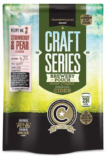 STRAWBERRY & PEAR CIDER POUCH [Craft Series]