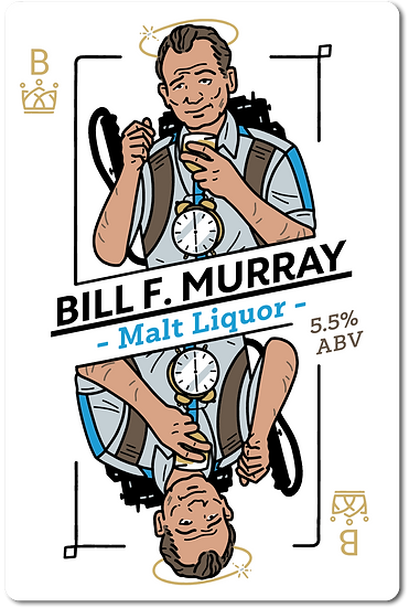 Bill f Murray Malt Liquor [All Inn Brewing Fresh Wort Kit]