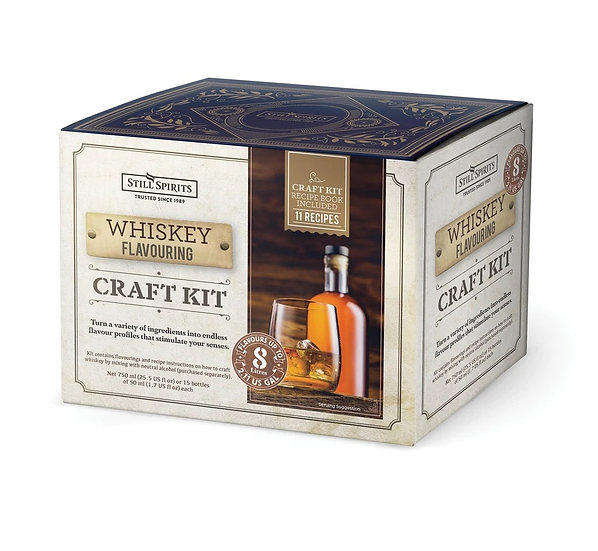 WHISKEY FLAVOURING CRAFT KIT